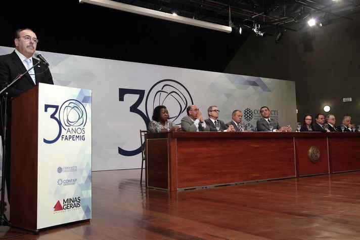 Presidente Evaldo Vilela prestou homenagem ao professor Marcos Pinotti, morto em janeiro