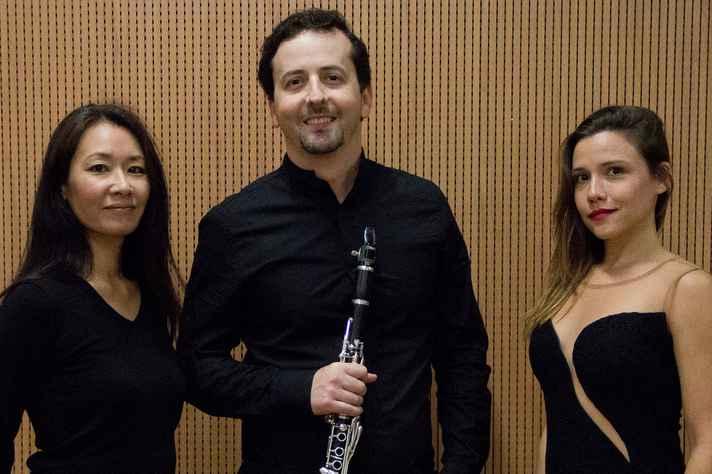 Ayumi Shigeta, Ney Franco e Raquel Dias: compositores europeus