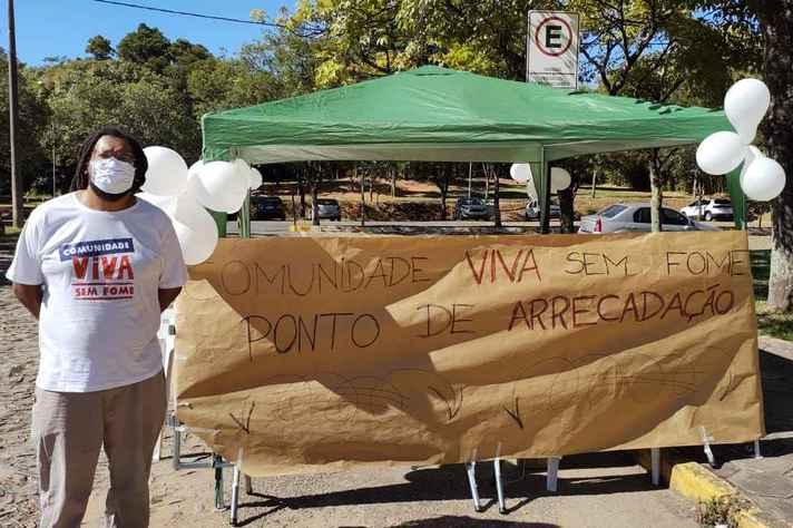 Campanha UFMG contra a covid-19, a fome e o frio recebe doações de alimentos perecíveis, leite, fraldas, cobertores e roupas lavadas e em bom estado