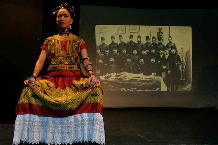 O espetáculo Frida, da mexicana Violeta Luna, abre a programação d'O Levante