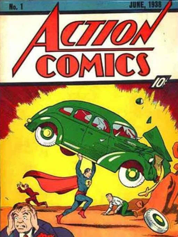 Edição da revista Action Comics de junho de 1938