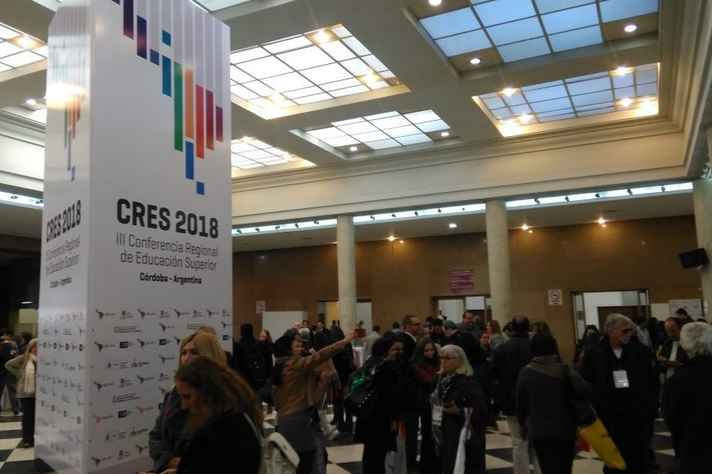 Segundo dia da Conferência Regional de Educação Superior (Cres 2018), da Unesco, realizada em Córdoba, na Argentina