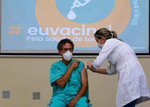 O enfermeiro Antonio Alves Ribeiro
