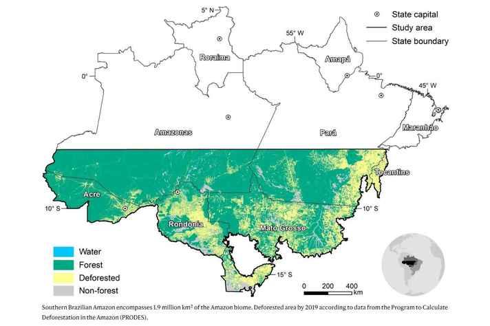 Sul da Amazônia concentra terras cultiváveis e pastagens da região