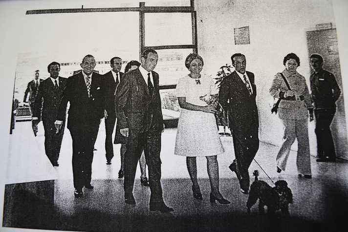 Inauguração do Coltec, abril de 1969