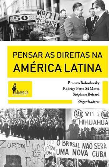 Capa do livro 'Pensar as direitas na América Latina'