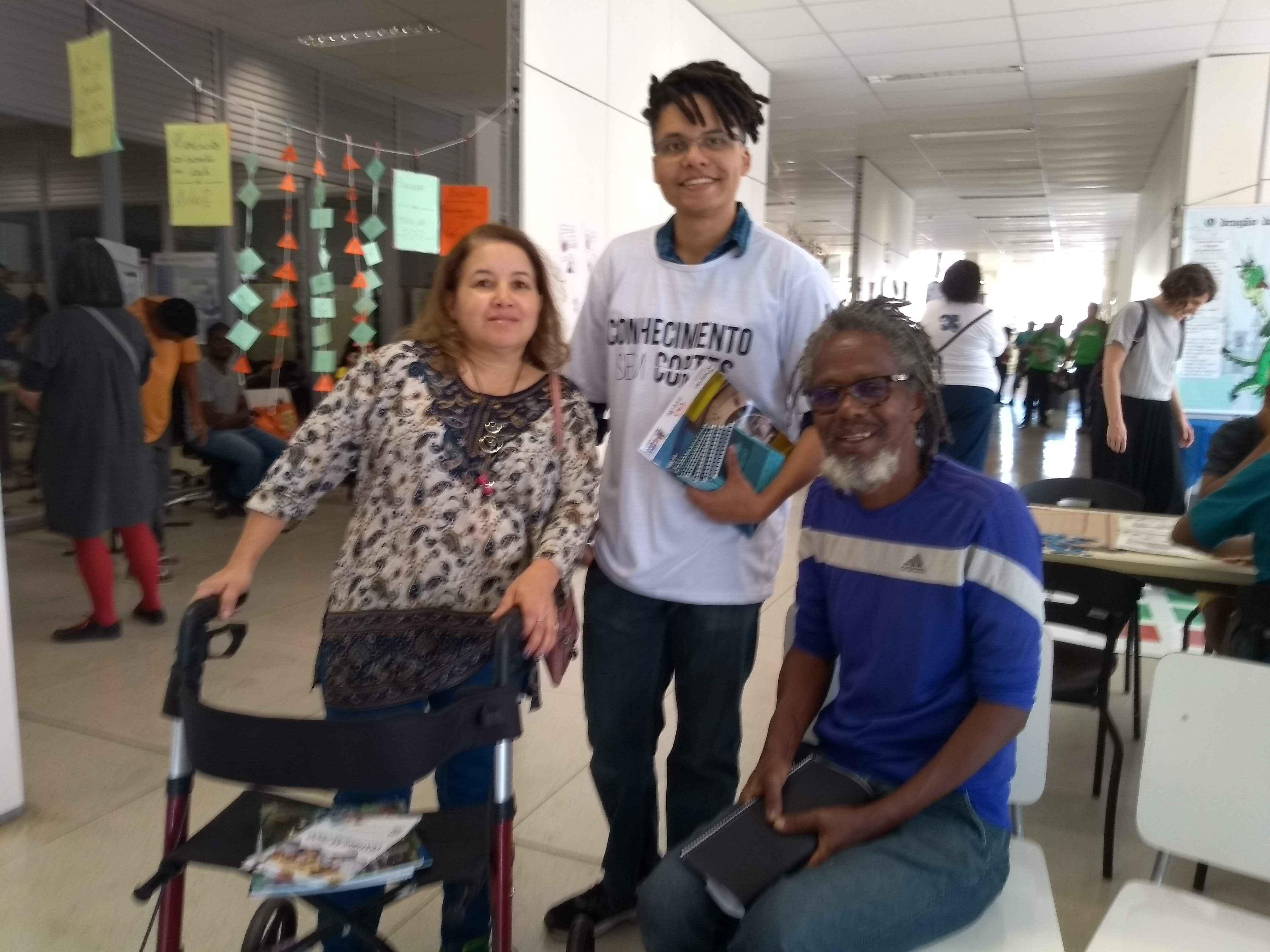 Selma, Samuel e José Geremias Costa: