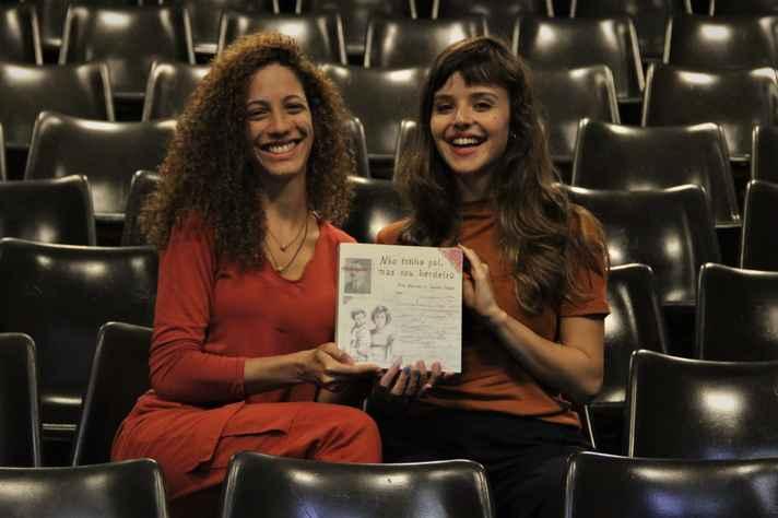 As autoras Alice Machado e Isabelle Chagas