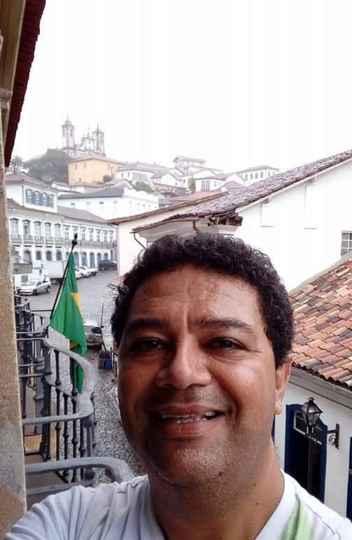 Roberto Falcão trabalha como guia de turismo e está sendo afetado pela pandemia