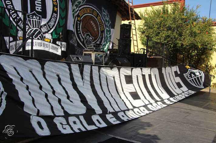 O Movimento 105 se inspira nas 'barras' argentinas e uruguaias