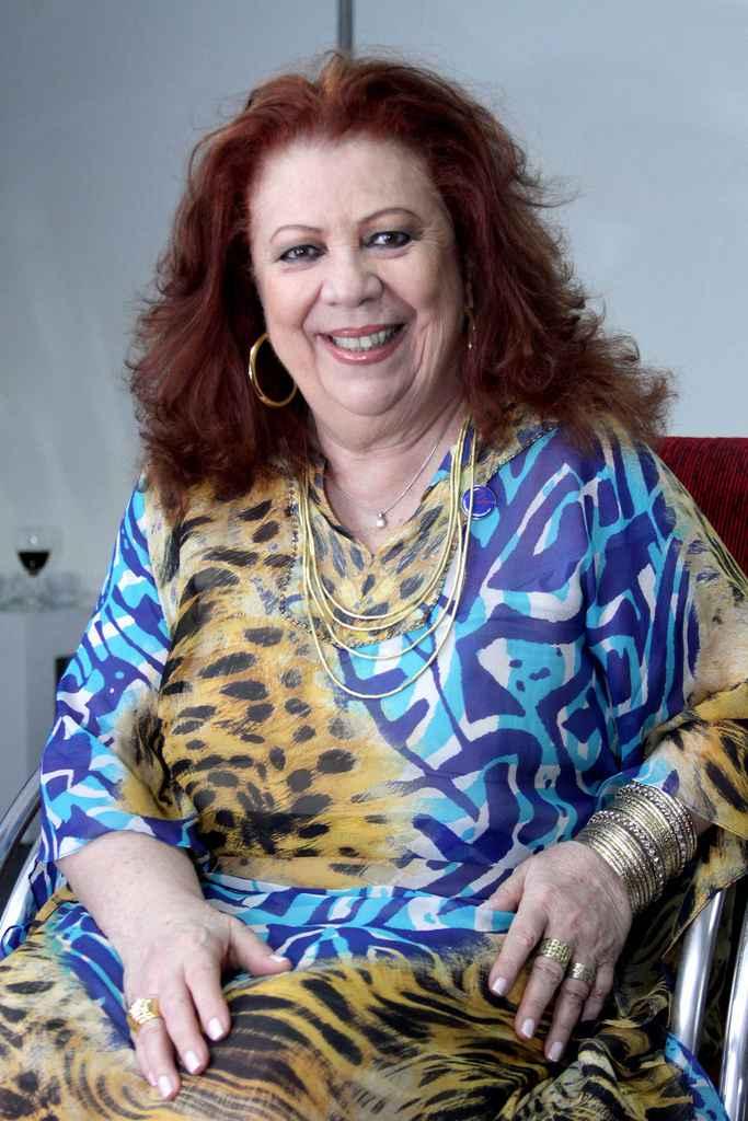 Beth Carvalho em 2011, quando recebeu a