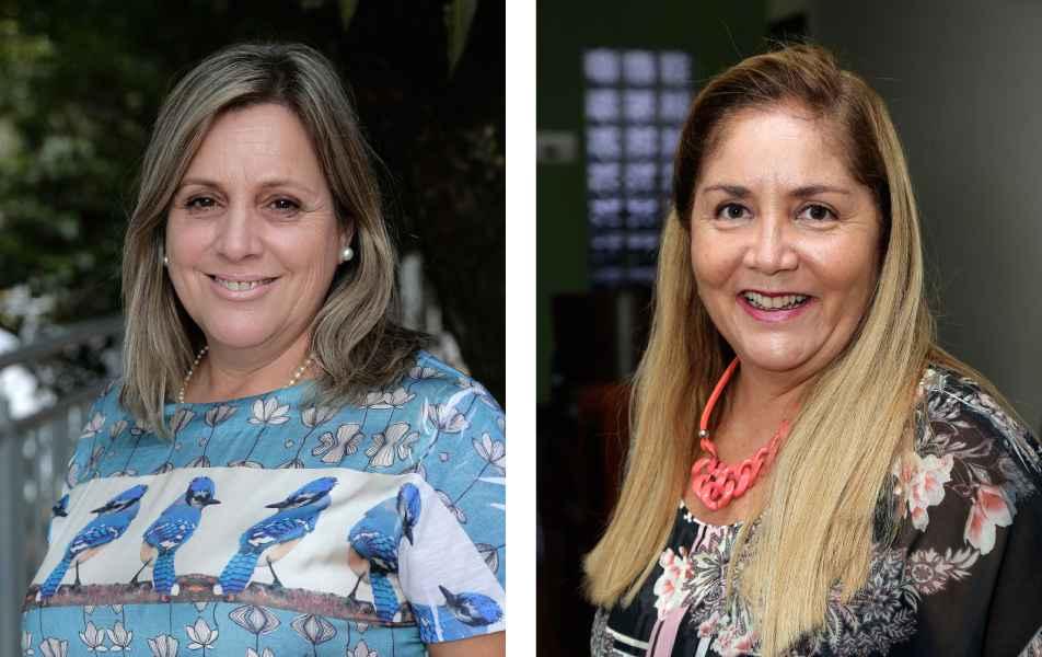 """<p>Pró-reitoria de Recursos Humanos<br><a href=""""http://somos.ufmg.br/professor/maria-marcia-magela-machado"""" target=""""_blank"""">Márcia Machado</a>, professora do Instituto de Geociências<br><a href=""""http://buscatextual.cnpq.br/buscatextual/visualizacv.do?id=K4756263P0"""" target=""""_blank"""">Leonor Gonçalves</a>, servidora técnico-administrativa em educação</p>"""