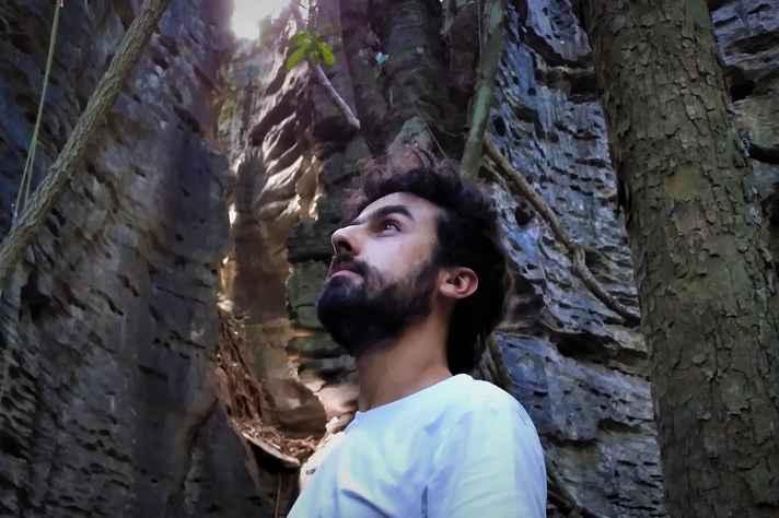 O pesquisador Tales Bedeschi Faria