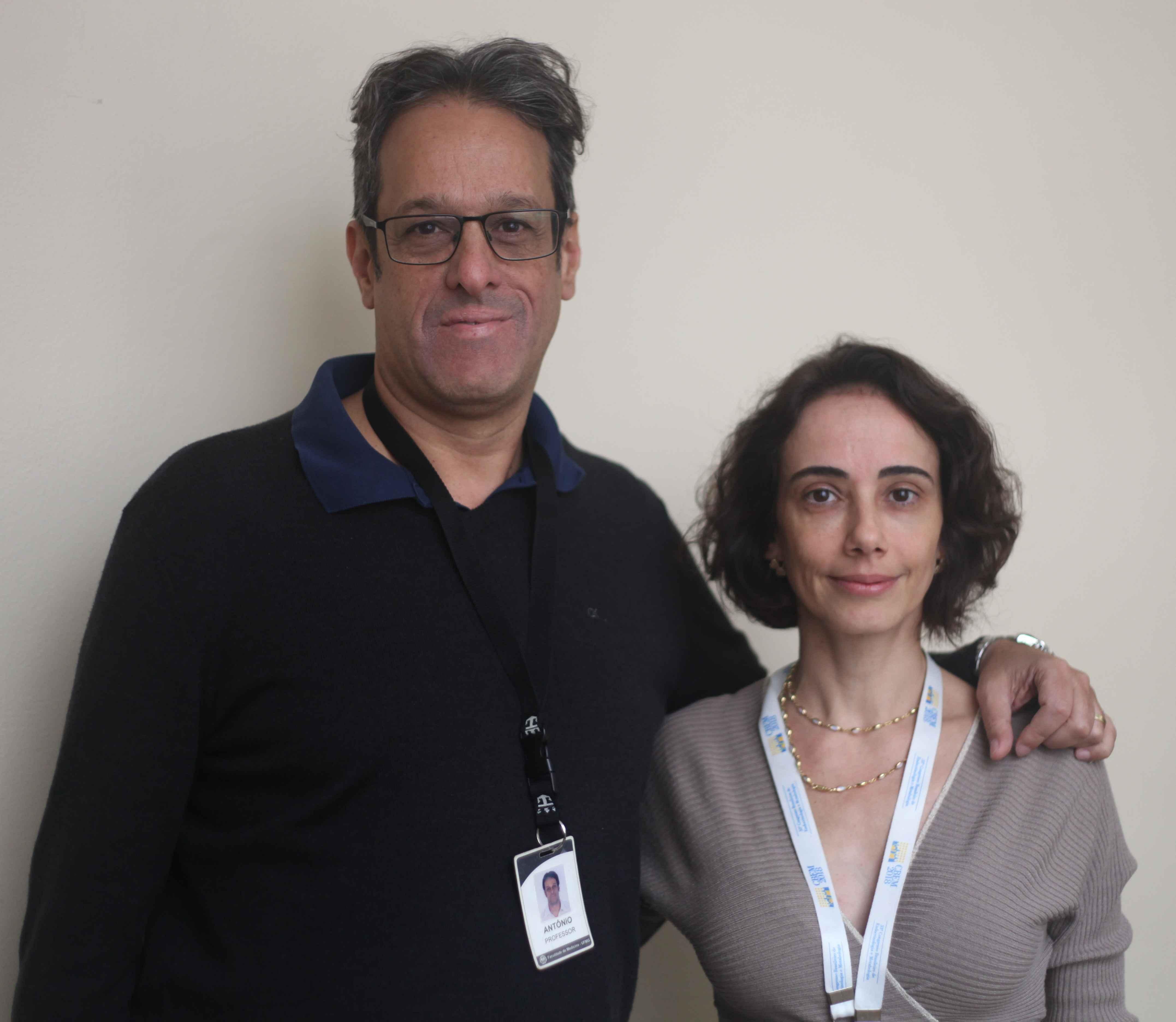 Antônio Ribeiro-Oliveira Júnior e Juliana Drummond representam o Brasil em estudo multicêntrico