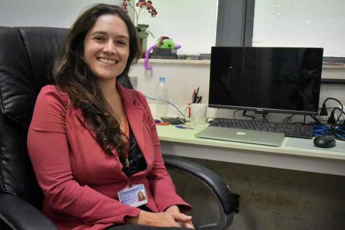 Premiada na área de Química em 2017, Rafaela Silveira