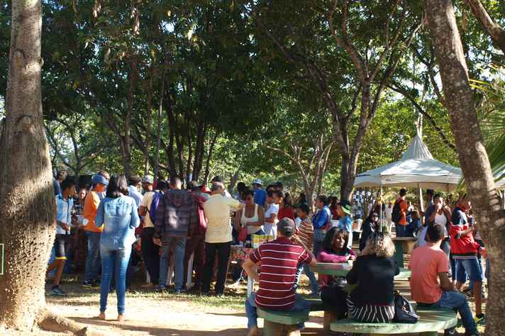 As 37 oficinas gratuitas atraíram centenas de pessoas da região
