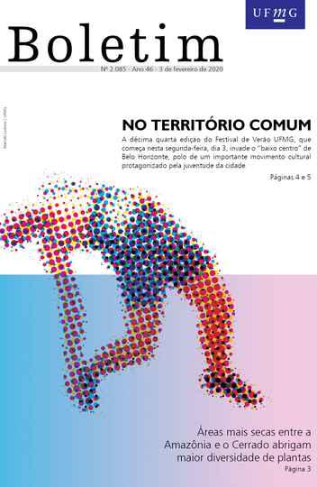 Capa da edição 2.085 (Arte: Marcelo Lustosa / UFMG)