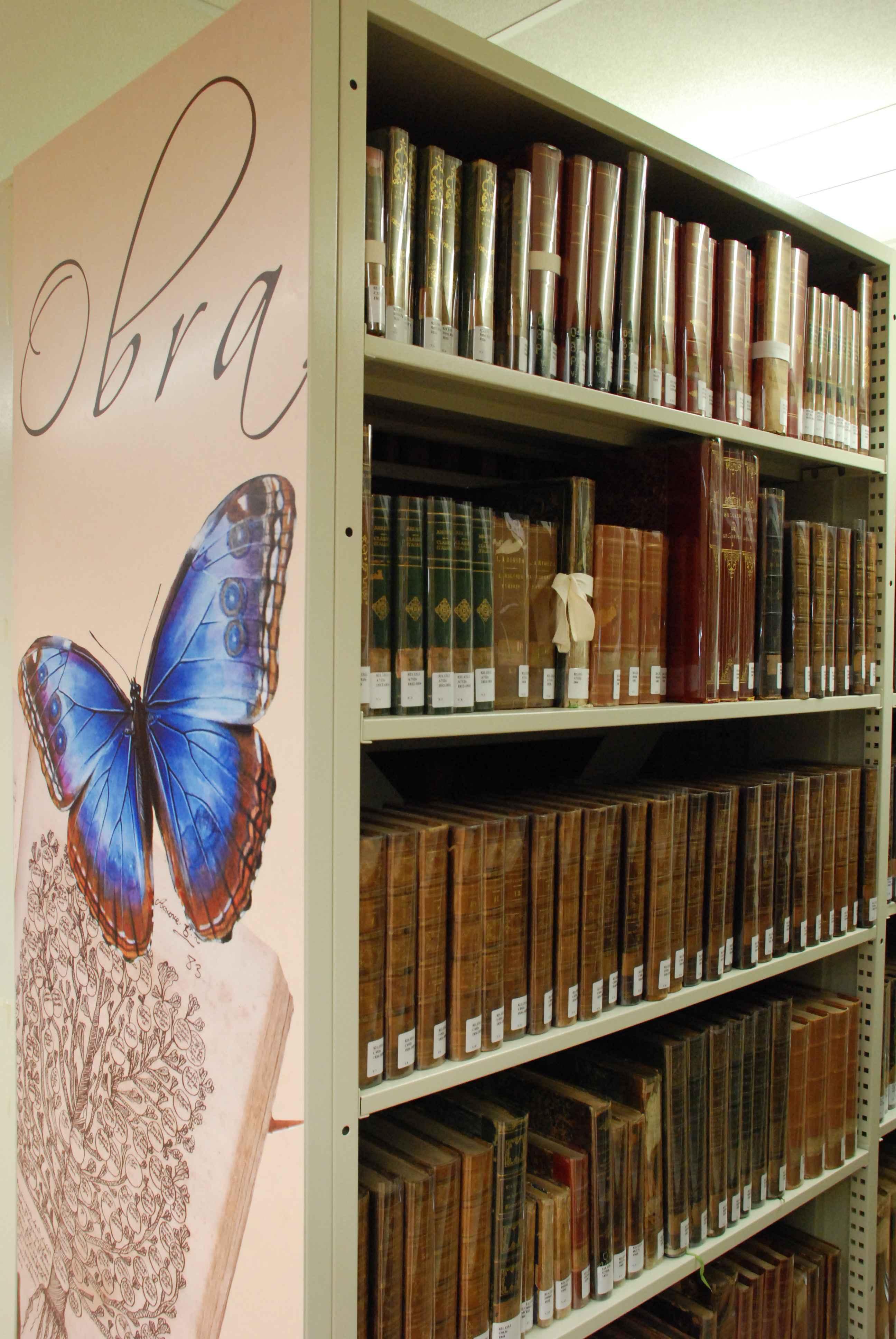 Amostra da coleção de obras raras: curso vai aliar teoria e prática