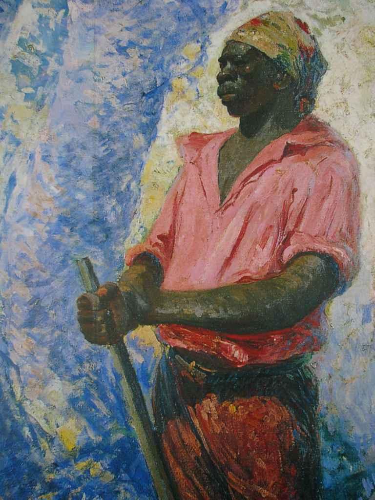 Zumbi dos Palmares (1927), pintura de Antonio Parreiras