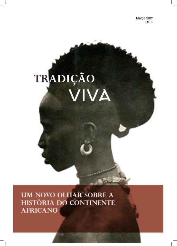 Capa da revista 'Tradição viva', uma das edições do projeto