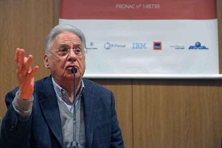 Ex-presidente Fernando Henrique Cardoso é um dos defensores do manifesto
