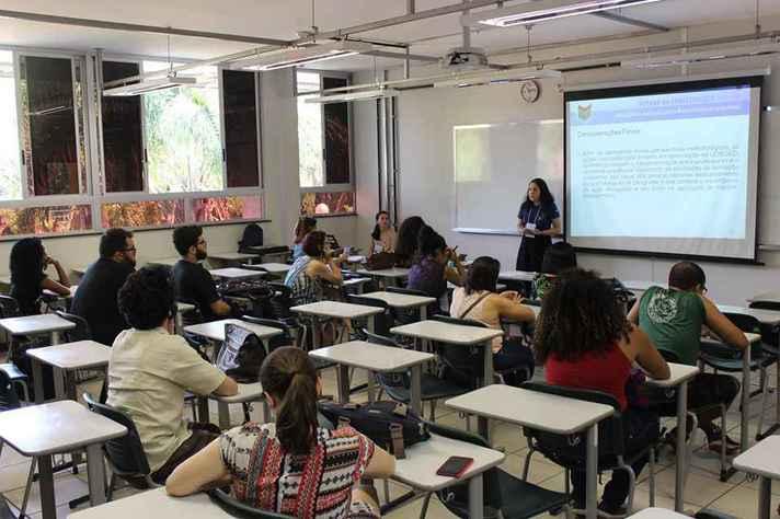 No ano passado, encontro de extensão contou com apresentações presenciais no CAD1, no campus Pampulha