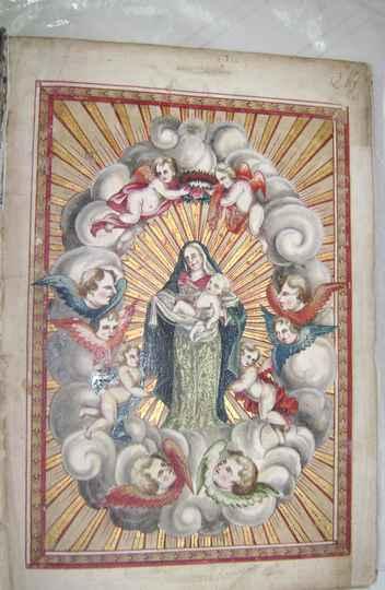 Imagem do Livro da Irmandade do Rosário dos Pretos da Freguesia de Nossa Senhora do Pilar de Ouro Preto