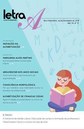 Capa da edição número 51 do Jornal Letra A