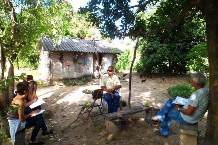 Entrevista em Cabeceirinhas, norte de Minas