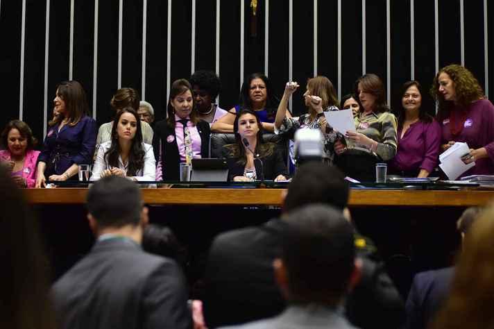 Bancada feminina da Câmara dos Deputados
