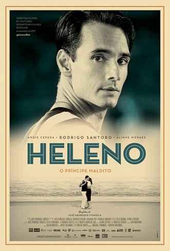 O longa Heleno (2011), de José Henrique Fonseca, está na programação da 5ª Mostra de Cinema e Futebol da FALE.