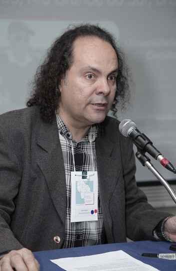 Fabio Vergara, da UFPe, apresentou conjunto de museus na Serra dos Tapes, no Rio Grande do Sul