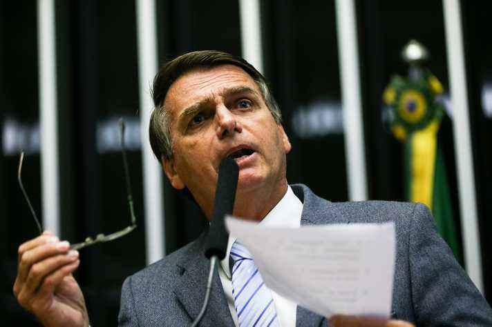 Jair Bolsonaro: promessa de redução no número de ministérios