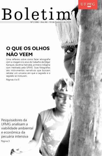 Capa da edição 2086 (com foto de Edgar Kanaycõ)