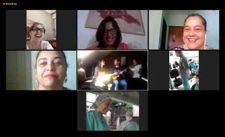 Transmissão on-line do projeto Seresta da Quarentena