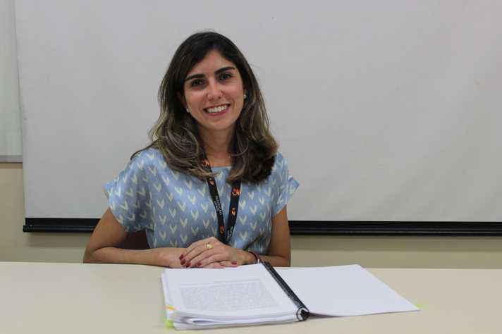 Patrícia Freitas: monitoramento das comunidades para identificar eventuais mudanças no ambiente