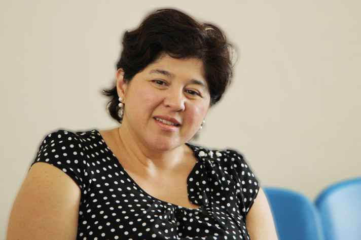 A professora da Faculdade de Direito da UFMG Maria Fernanda Salcedo Repolês