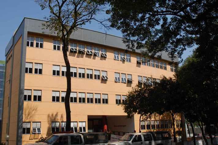 Fachada do prédio da Escola de Enfermagem da UFMG