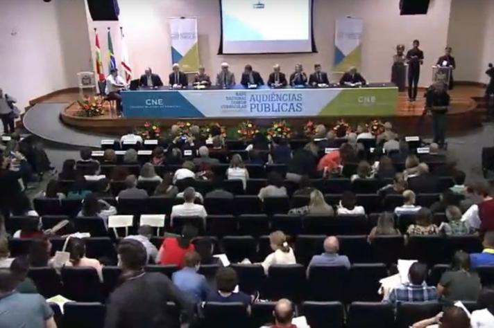 Audiência pública em Florianópolis (SC)