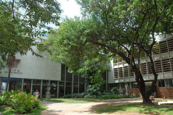 Prédio da Escola de Arquitetura: