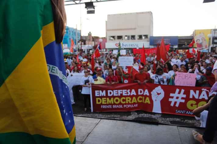 Manifestação contra o impeachment
