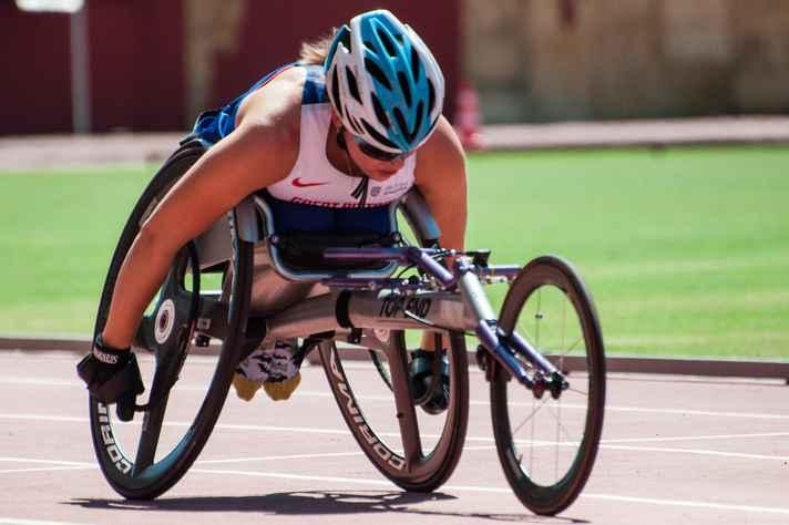 Wheel chair, espécie de bicicleta adaptada