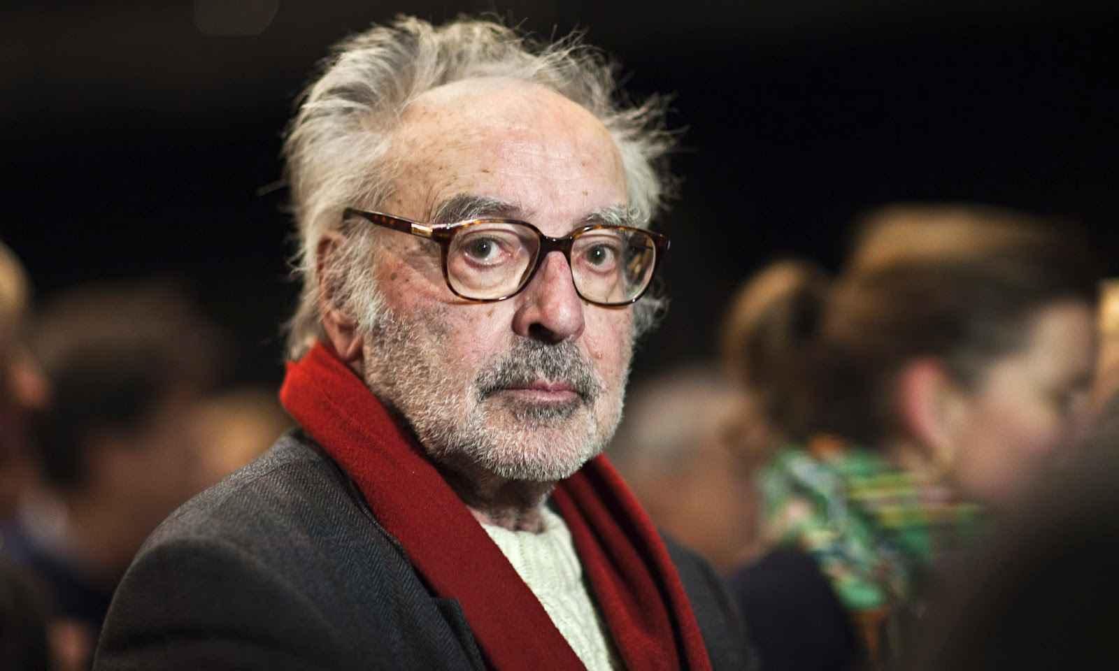 O cineasta Jean-Luc Godard