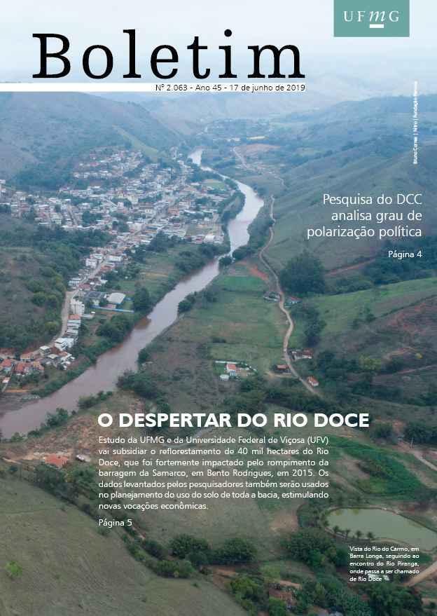 Capa da edição 2.063 do Boletim UFMG