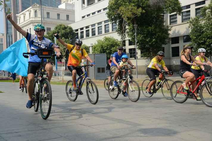 Ações são importantes para ciclistas