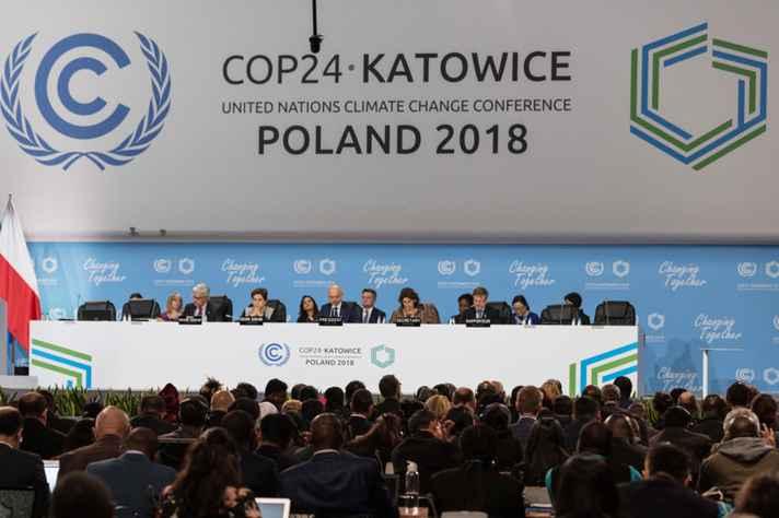 Abertura da COP-24, em Katowice, Polônia