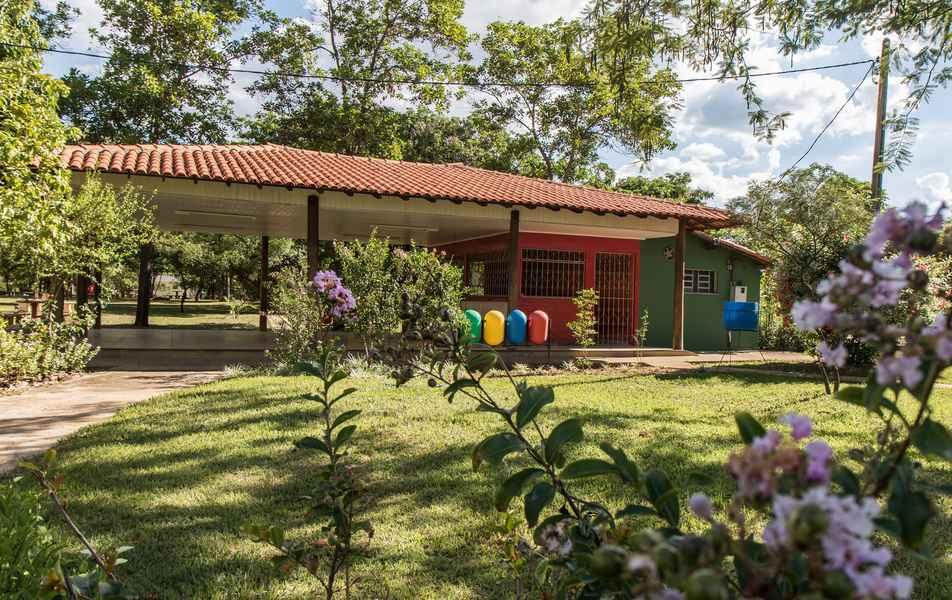 Área de convivência do Instituto de Ciências Agrárias (ICA) campus Montes Claros