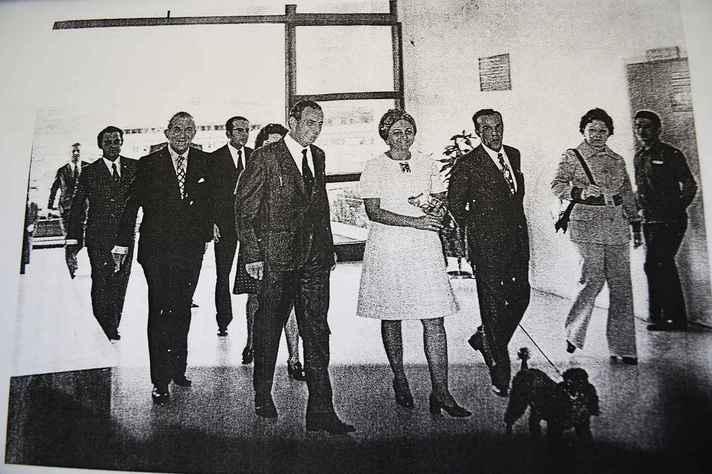Inauguração do Colégio Técnico, em 1958
