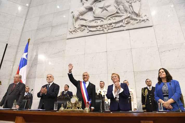 Sebastian Piñera assume como presidente do Chile