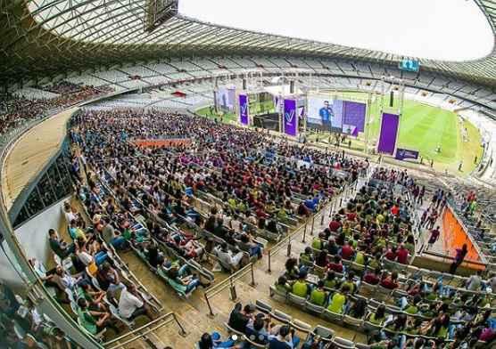 Evento teve duas edições realizadas no estádio Mineirão